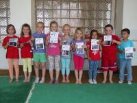 Poslední cvičení - předškoláci - fotky